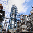 Stock Photo: Oil fuel and gas industry