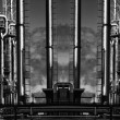 Oil and gas industrial panoramic — Stock Photo