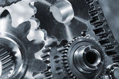 Aerospace gears and cogs — Stock Photo