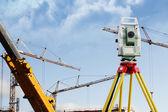 Geodetists equipment — Stock Photo