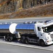 Постер, плакат: Fuel truck on the move