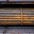 Stock Photo: Rust Reinforcing steel bar