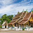 Wat Xieng Thong, Buddhist temple in Luang Prabang World Heritage — Stock Photo