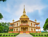 Phra That Khong Santi Chedi pagoda, Luang Pra Bang, Laos — Stock Photo