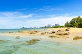 Sea ocean beach in summer — Stock Photo