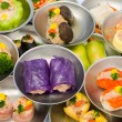 Stock Photo: Variety of dimsum