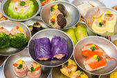 Variety of dimsum — Stockfoto