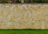 Modern stil tasarım dekoratif gerçek taş duvar desen rengi — Stok fotoğraf