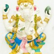 Stock Photo: God of success 3 of 32 posture. Indior Hindu God Ganeshavat