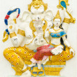 Stock Photo: God of success 5 of 32 posture. Indior Hindu God Ganeshavat