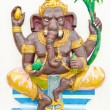 Stock Photo: God of success 2 of 32 posture. Indior Hindu God Ganeshavat