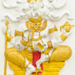 Stock Photo: God of success 6 of 32 posture. Indior Hindu God Ganeshavat