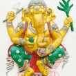 Stock Photo: God of success 7 of 32 posture. Indior Hindu God Ganeshavat
