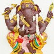 God of success 10 of 32 posture. Indian or Hindu God Ganesha ava — Stock Photo