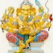 Stock Photo: God of success 16 of 32 posture. Indior Hindu God Ganeshava