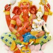 Stock Photo: God of success 17 of 32 posture. Indior Hindu God Ganeshava