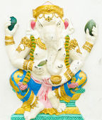 God of success 3 of 32 posture. Indian or Hindu God Ganesha avat — Stock Photo