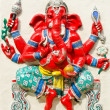 Stock Photo: God of success 21 of 32 posture. Indior Hindu God Ganeshava