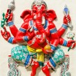 God of success 21 of 32 posture. Indior Hindu God Ganeshava — Stock Photo #33093053