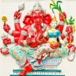 Stock Photo: God of success 25 of 32 posture. Indior Hindu God Ganeshava