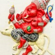 Stock Photo: God of success 24 of 32 posture. Indior Hindu God Ganeshava