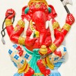 Stock Photo: God of success 27 of 32 posture. Indior Hindu God Ganeshava