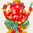 Stock Photo: God of success 26 of 32 posture. Indior Hindu God Ganeshava