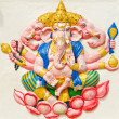 Stock Photo: God of success 29 of 32 posture. Indior Hindu God Ganeshava