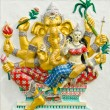 Stock Photo: God of success 30 of 32 posture. Indior Hindu God Ganeshava