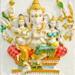 Stock Photo: God of success 32 of 32 posture. Indior Hindu God Ganeshava
