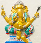 God of success 20 of 32 posture. Indian or Hindu God Ganesha ava — Stock Photo