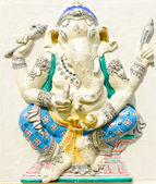 God of success 22 of 32 posture. Indian or Hindu God Ganesha ava — Stock Photo