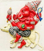 God of success 24 of 32 posture. Indian or Hindu God Ganesha ava — Stock Photo