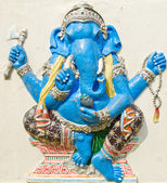 God of success 23 of 32 posture. Indian or Hindu God Ganesha ava — Stock Photo