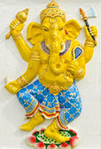 God of success 31 of 32 posture. Indian or Hindu God Ganesha ava — Stock Photo