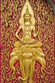 Buddha carved — Stock Photo