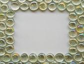 Decorative bubble glass pattern — Stock Photo