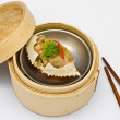 Chinese steamed dimsum crab — Stock Photo
