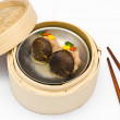 Stock Photo: Chinese steamed dimsum Mushrooms