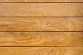 Pattern of teak wood surface — Stock Photo