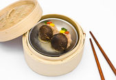 Chinese steamed dimsum Mushrooms — Stock Photo