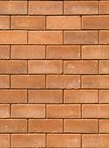 红砖墙壁纹理 — 图库照片