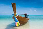 Dlouho sledoval loď v thajsku — Stock fotografie