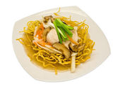Rat-na, Thai-Chinese style food — Stock Photo