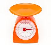 Kitchen food scale — Stock Photo