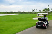 Golf cart — Foto Stock