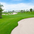 Landscape of golf course — Stockfoto #35123273