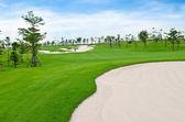 Paesaggio del campo da golf — Foto Stock