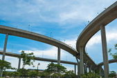 Bhumibol ponte — Foto Stock