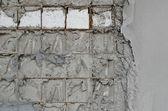 Reinforced concrete walls within the styrofoam — Foto de Stock